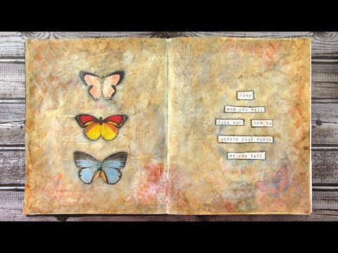 Wild Soul Art Journaling Challenge: Wings