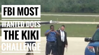 FBI Most Wanted does Kiki Challenge when captured 🤦🏻‍♀️