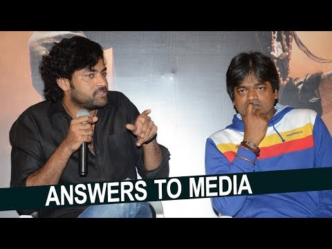 Varun Tej and Harish Shankar Superb Answers to Media about Valmiki Movie | NTV Entertainment