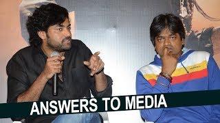 Varun Tej and Harish Shankar Superb Answers to Media about Valmiki Movie | NTV Entertainment