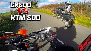 2018 500 EXC VS Honda CR500 | Let Battle Commence!