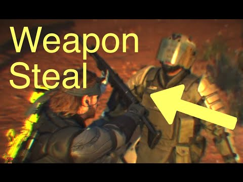 MGSV: Phantom Pain - Pro Tips: Weapon Steal and Holdup (Metal Gear Solid 5)