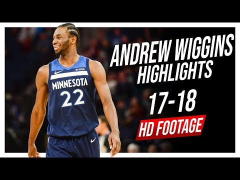 Wolves SF Andrew Wiggins 2017-2018 Season Highlights ᴴᴰ