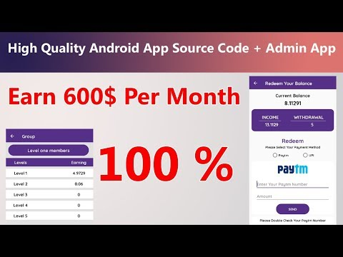 High Quality  Task App || Android App || Admin App