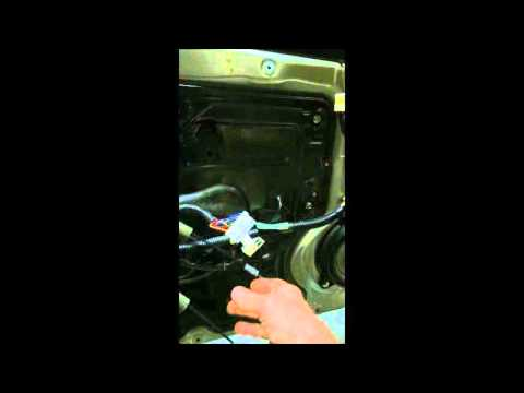 2004 Maxima Window Regulator Motor Replacement