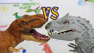 Clash of dinosaurs