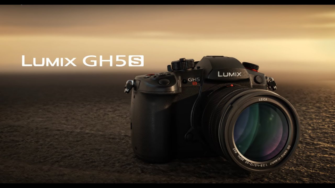 Lumix GH5S: designed and developed for professional