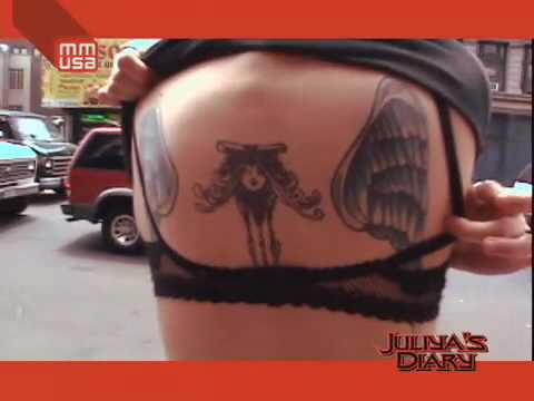 Juliya C. Gets a Tattoo on FUSE (MMUSA) for Uranium!! !