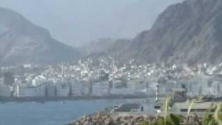 View from my hotel at Al Mukalla
