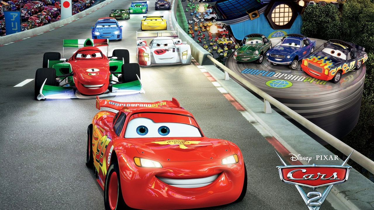 Disney Pixar Cars Lightning Mcqueen Painting Arabalar Simsek