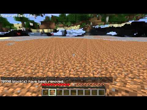 Singleplayer Commands: Gerade Fläche...