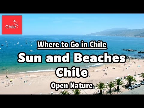 Where To Go In Chile: Sun And Beaches Chile - Open Nature