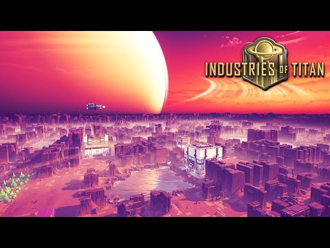 INDUSTRIES OF TITAN   NEW CITY BUILDER Factory Colony with Impressive Ship Building #Sponsored