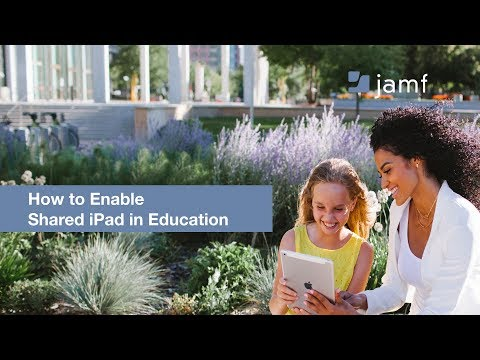 How to Enable Shared iPad in Education