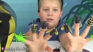 BIGGEST Bumble BEE Surprise Egg! HobbyTiger Surprise Toys by HobbyKidsTV