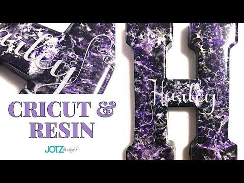 Create a beautiful Epoxy Resin Gift, start to finish!