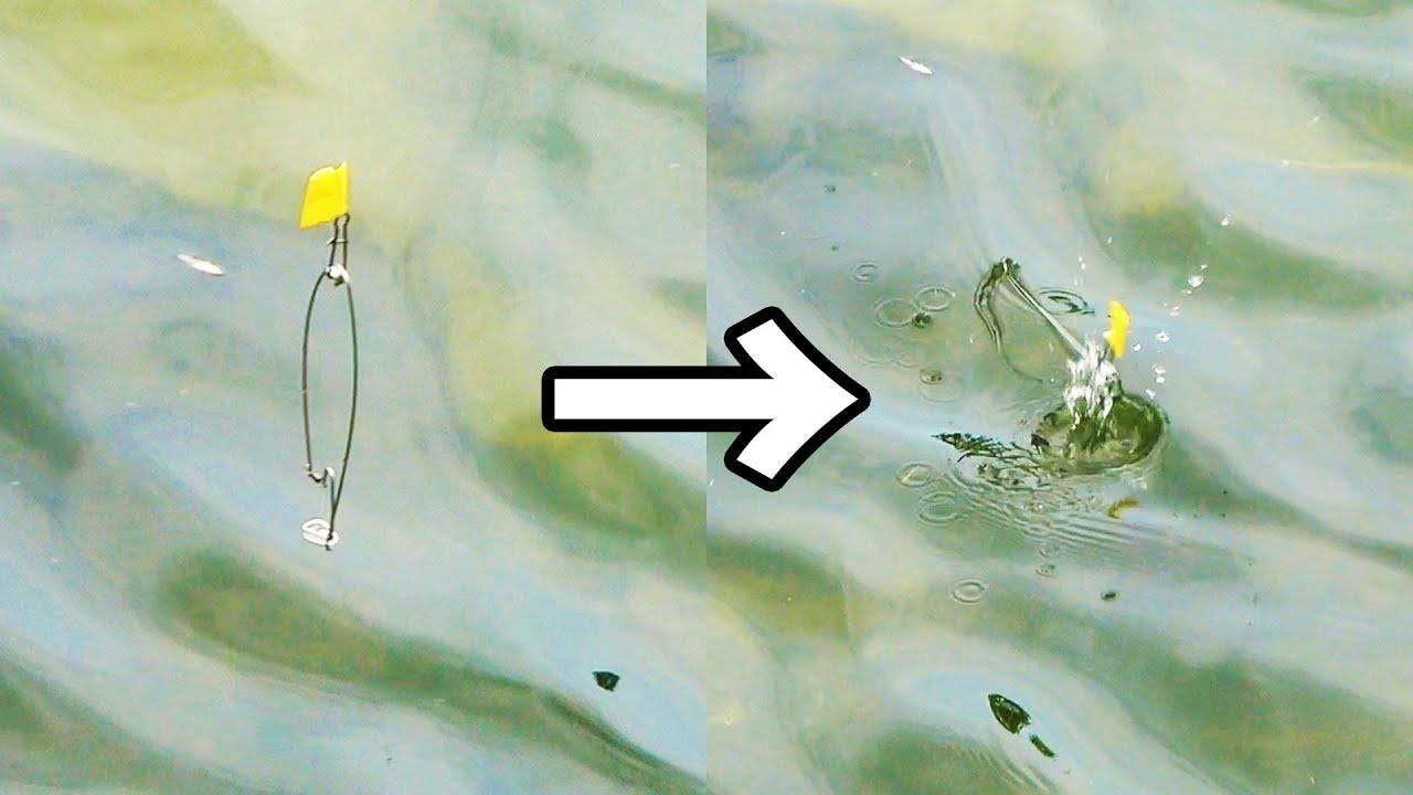 【革命】30円で簡単に作れる自動釣り仕掛けがヤバイ