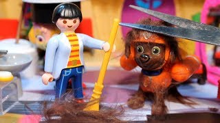 PATRULLA de CACHORROS ¡CORTAN el PELO a ZUMA! PAW PATROL toys español patrulla canina PUPS