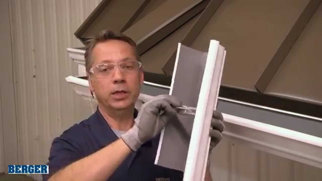 Installing Gutter Brackets Youtube