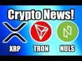 """CNBC: """"Bitcoin Is About to Explode!"""" Plus Ripple, Tron, and Nuls Updates [Crypto News]"""