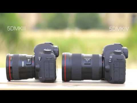 Canon EOS 5D Mark IV vs 5D Mark III