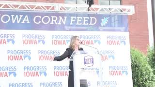 Marianne Williamson at the Progress Iowa Corn Feed marianne2020.com., From YouTubeVideos