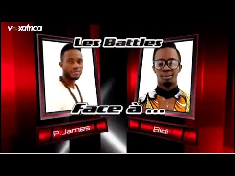 P-James vs Bidi - Uptown funk (Les battles | The Voice Afrique francophone 2016)