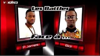 P-James vs Bidi - Uptown funk (Les battles | The Voice Afrique francophone 2016)