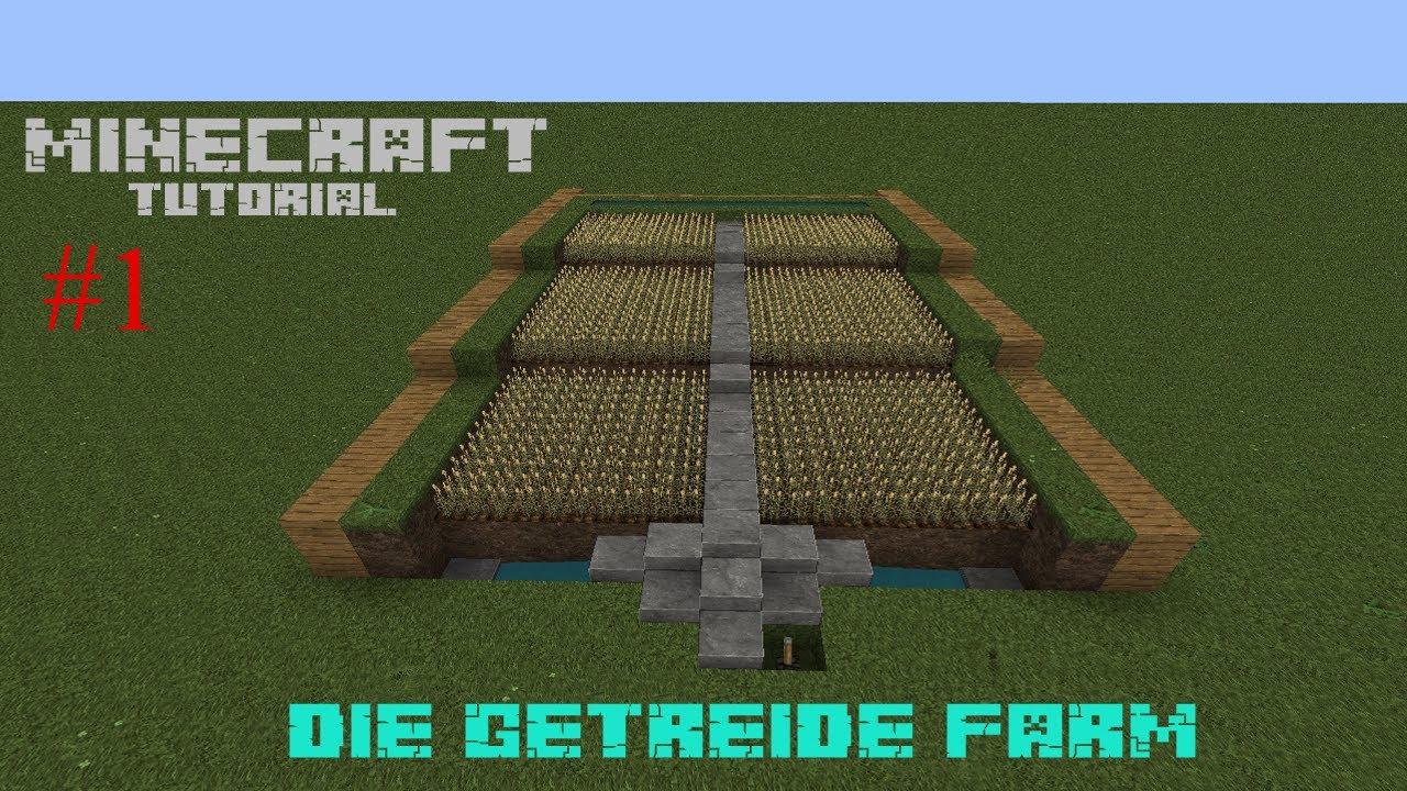 TuT Gronkhs Halbautomatische Getreide Farm Minecraft - Minecraft hauser gronkh
