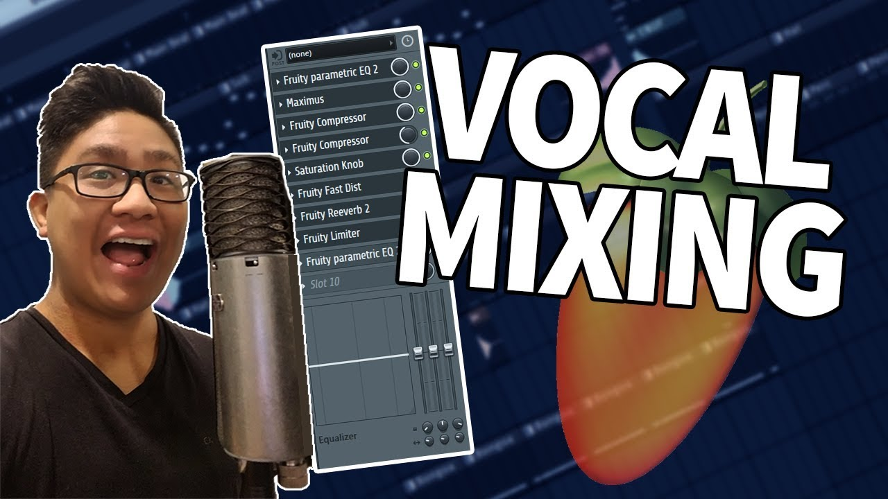 A Beginner's Guide To Mixing Rap Vocals In FL Studio! Vocal Mixing Tutorial