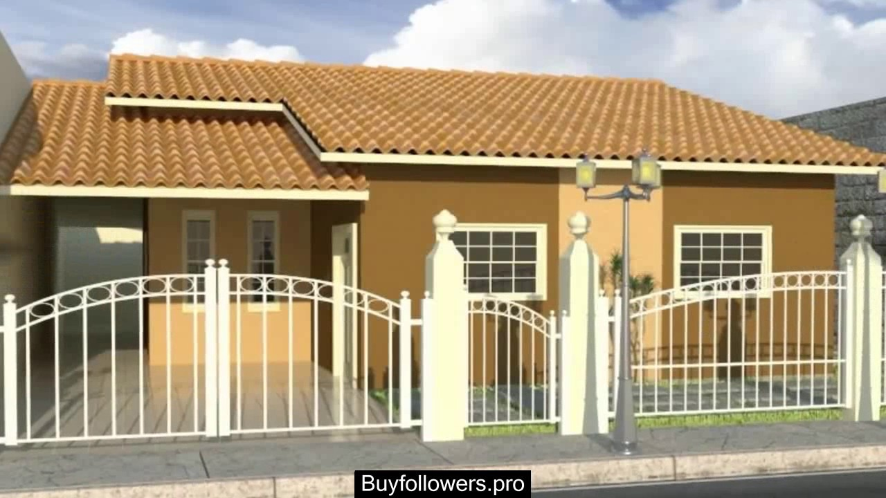 Fachadas de casas con rejas y portones youtube - Rejas para casas ...