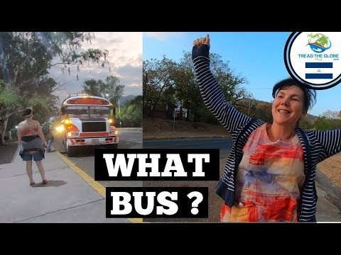 Travelling from Nicaragua to El Salvador by bus (2019) Somoto to San Salvador