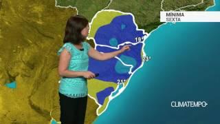 Previsão Sul – Risco de chuva forte no PR