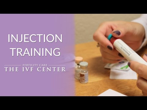 Injection Training | Fertility CARE: The IVF Center