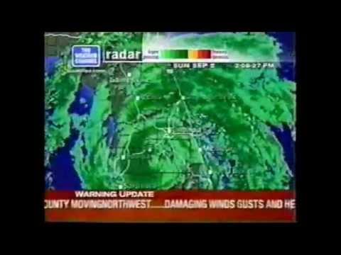 The Weather Channel Radar Loop of Hurricane Frances