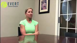 Chrissie Evert interview with Ricardo Acioly — Professional vs College tennis players