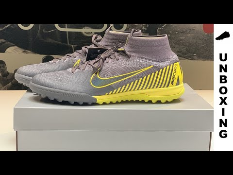 cea64cc92 Nike SuperflyX 6 Elite TF Game Over ANTHRACITE-YELLOW - YouTube