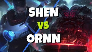 Shen vs Ornn - League of Legends