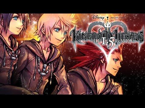 Kingdom Hearts 358/2 Days Game Movie (HD Remix Edition) All Cutscenes 1080p