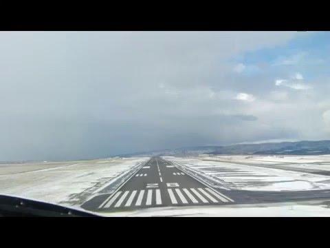 Citation 560XLS Landing Hayden Colorado KHDN