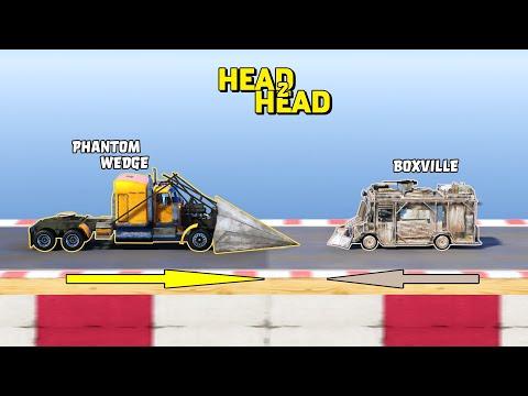 GTA V - Phantom Wedge vs Armored Boxville