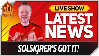 SOLSKJAER'S GOT THE JOB SAYS KLOPP! Man Utd News Now