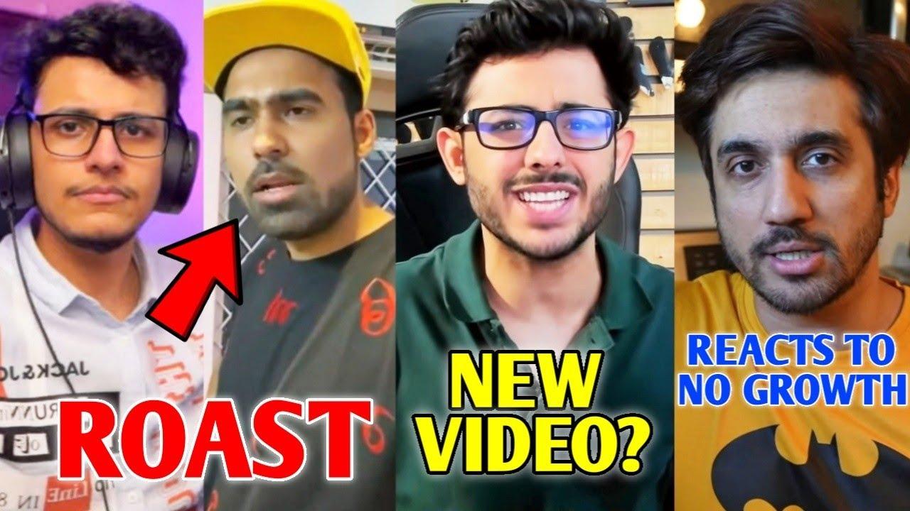 Triggered Insaan ROAST GauravZone   CarryMinati New Video?, BB Ki Vines STUNT, Sandeep Maheshwari  