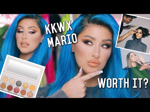 KKW x MARIO COLLECTION REVIEW-  CHRISSPY thumbnail