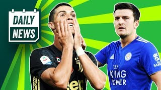 Harry Maguire says NO to Man United, Bendtner punches taxi driver + more! ► Onefootball Daily News