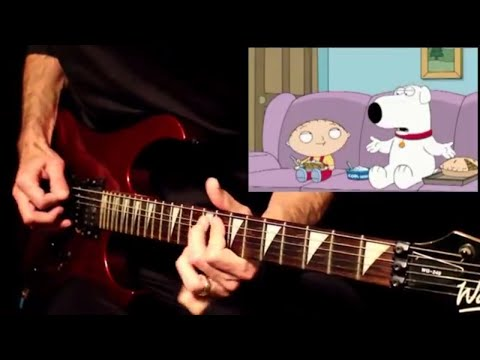 family guy cool whip but it's a wah-some guitar dub