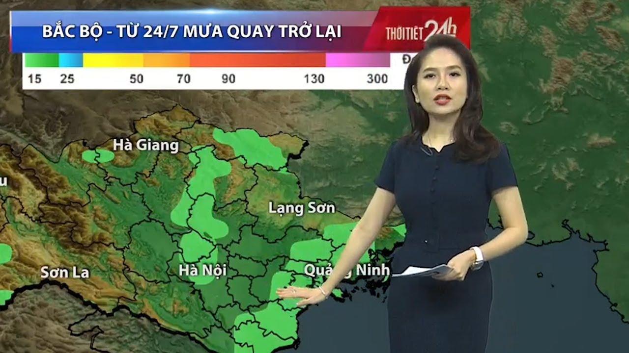 Miền Bắc sẽ chỉ nắng đẹp trong 2 ngày rồi lại mưa - Tin Tức VTV24
