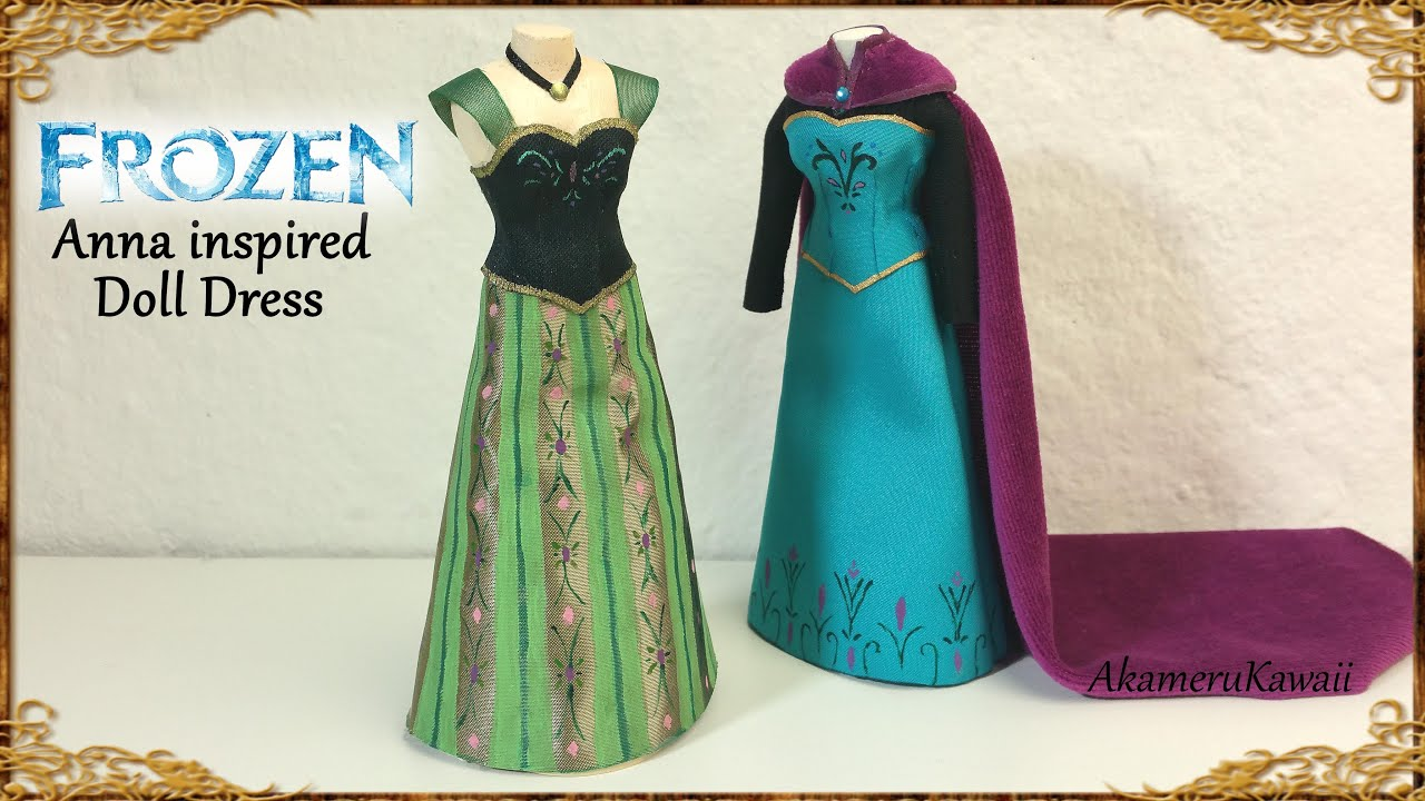 Princess Anna of Arendelle Coronation Dress Construction Notes