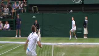 Andy Murray - Defensive Lob