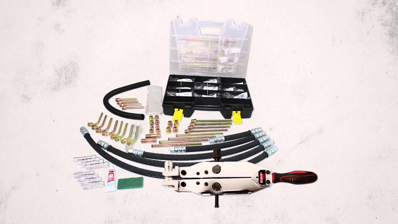 Power Steering Line Repair Kit Youtube How To Replace Hose On Chevy Silverado